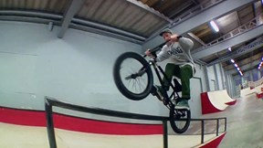 Anthony Watkinson, BMX at The Rampworx Plaza | Fast Forward BMX, Ep. 1