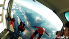 Awesome Wingsuit, Speedflying with Andri Huder in Beautiful Swiss Alps