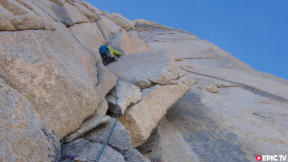 Josh Huckaby Describes New Routes in Patagonia - Carne y Papas and Manos et Mas Manos