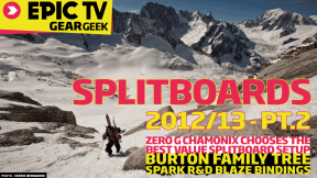 EpicTV Gear Geek: Top Splitboards 2012/13: Part 2 Best Value