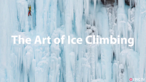 Climbing Vertical Frozen Waterfalls - Jerome Blanc-Gras: The Art of Ice Climbing