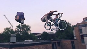 Two Freerunners and a BMXer Go Up On a Roof. Then Things Get Awesome | The Flying Dutchman, Ep. 3