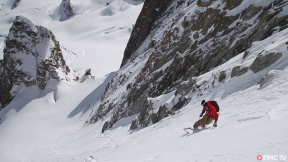 Ski/Snowboard Descent, Macho Couloir Chamonix, PERFECT Conditions  | Window Into Our World, Ep. 3