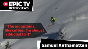 Freeskier and Mountain Guide Samuel Anthamatten