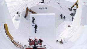 Here's How They Built the Craziest Freeski Park Ever  | Nine Knights - Behind the Scenes, Ep. 2