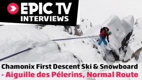 Chamonix First Descent Ski and Snowboard: Aiguille des Pelerins, Normal Route