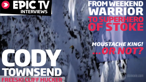 EpicTV Interviews: Freeski Cliff Hucker Cody Townsend