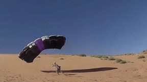 Epically Sketchy Canopy Flights & BASE in Moab | Sketchy Andy's Slacklife, Ep. 7