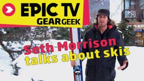 Seth Morrison: The Secrets Behind Designing New Skis K2