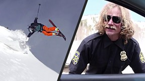 Badass Skiers Shred Pow and Dodge Police | Super Serious Skiing with Eric Balken and Friends, Ep. 2