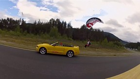 Skydiver Rides Wingsuit Pilots & Lands in Moving Car | Jhonathan Florez Wingsuit Chronicles, Ep. 3