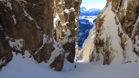 Extreme Skier Giulia Monego Scoring All-Time Couloirs in the Dolomites - Turns & Curves, Episode 1