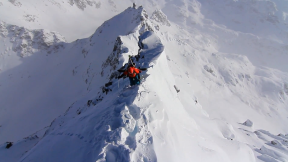 Turns 'n' Curves - Extreme Skier Giulia Monego Charging in Verbier