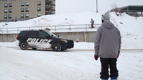 Urban Skier's Struggle | Cops Working Overtime To Fight The Menace To Society Known As Skiing