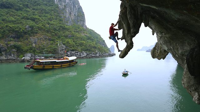 Climbing New Routes On The Spectacular Spires Of Ha Long Bay | DWS, Ep. 2