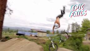 Dolphin-Like Spasm To Face-Plant On Mountain Bike | Epic Fails