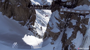 First Ever Wingsuit Flight UNDER The Aiguille Du Midi Bridge | EpicTV Fresh Catch