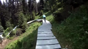 Davos Klosters - Full ride on Gotschna Freeride