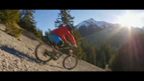 Spank - Vinny T Rides Big Mountain Lines