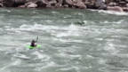 DJI - Kayaking Over The Rapids