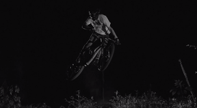 Night Section | Mountain Biking At Night With Ugo And Antonin Bazin