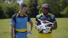 Can You Smash a Drone out of the Sky with a Cricket Ball? | Flight Club Hacks