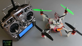 DIY Mini Quadcopter OpenPilot CC3D Wiring Configuration & Garage Maiden | Flight Club Hacks