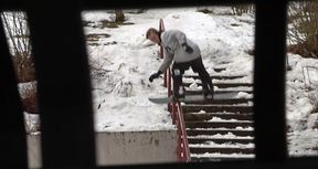 The Backyard Session | For Real Street Snowboarding You Need A Perfect Practice Rail