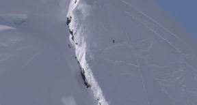 Frenchies in AK | French Snowboarders Take On The Steep And Risky Faces Of Alaska