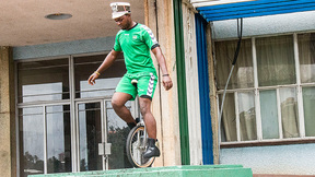 Aldred The Stunt Man | Sierra Leonean Follows His Childhood Dream