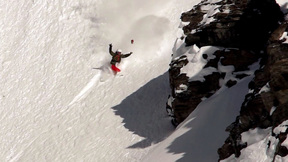 Crash | In Big Mountain Riding, There's Always A Risk That This Might Happen