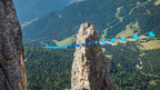 How Close Can You Go? Unbelievable Wingsuit Line Beneath A Highliner