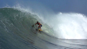 Benjamin Sanchis And Friends Getting Deep In Massive Barrels In Mexico
