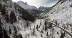Altitude | Stunning Snowy Mountain Scenes From An Aerial Perspective
