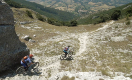 Downhill MTB Pioneer Richie Schley And Elena Martinello Discover Spectacular Monte Cucco in Umbria