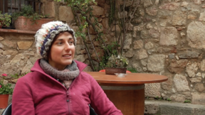 Tenaya - Interview to Alizée Dufraisse during a winter stage in Siurana, Catalunya