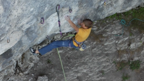 Tenaya - Alex Megos in Modified, 11 (9a+ - 5.15a) in Frankenjura.