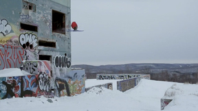 JF Houle, Jessy Cornu & Friends Get Creative At An Abandoned Military Base | 'Ski Control'