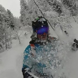 JJ Deep in powder