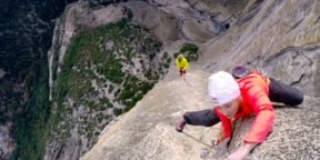adidas Outdoor - Home Movies | Sasha DiGiulian & Kevin Jorgeson on Lost Arrow Spire