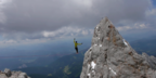 adidas Outdoor - Reini Kleindl highlining the Dachstein mountains
