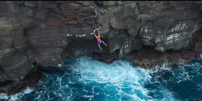 adidas Outdoor - Kevin Jorgeson trying Deep Water Soloing | Hawaii
