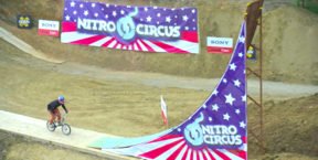 Nitro Circus - History Made! First Ever BMX Quad Backflip | Jed Mildon