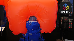 Mammut Ride Removable Airbag 3.0 | Best New Avalanche Airbags ISPO 2016