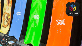 Spring Break Slush Slasher | Best New Snowboards ISPO 2016