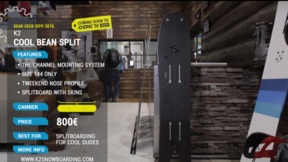 K2 Cool Bean Split | Best New Splitboard ISPO 2016