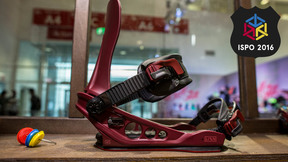 K2 Lien AT Binding | Best New All-mountain Freeride Snowboard Binding ISPO 2016