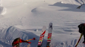 Jackson Hole - GoPro Powder 8's Grand Nationals with Lynsey Dyer and AJ Cargill