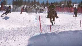 Jackson Hole - Skijoring in Jackson Hole