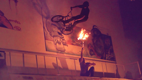BMX Indoor On Fire | Different Worlds Unite As One Piece Of Art